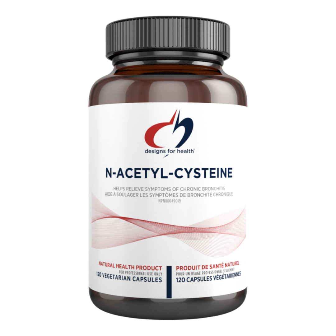 Designs for Health NAC (N-Acetyl-L-Cysteine)