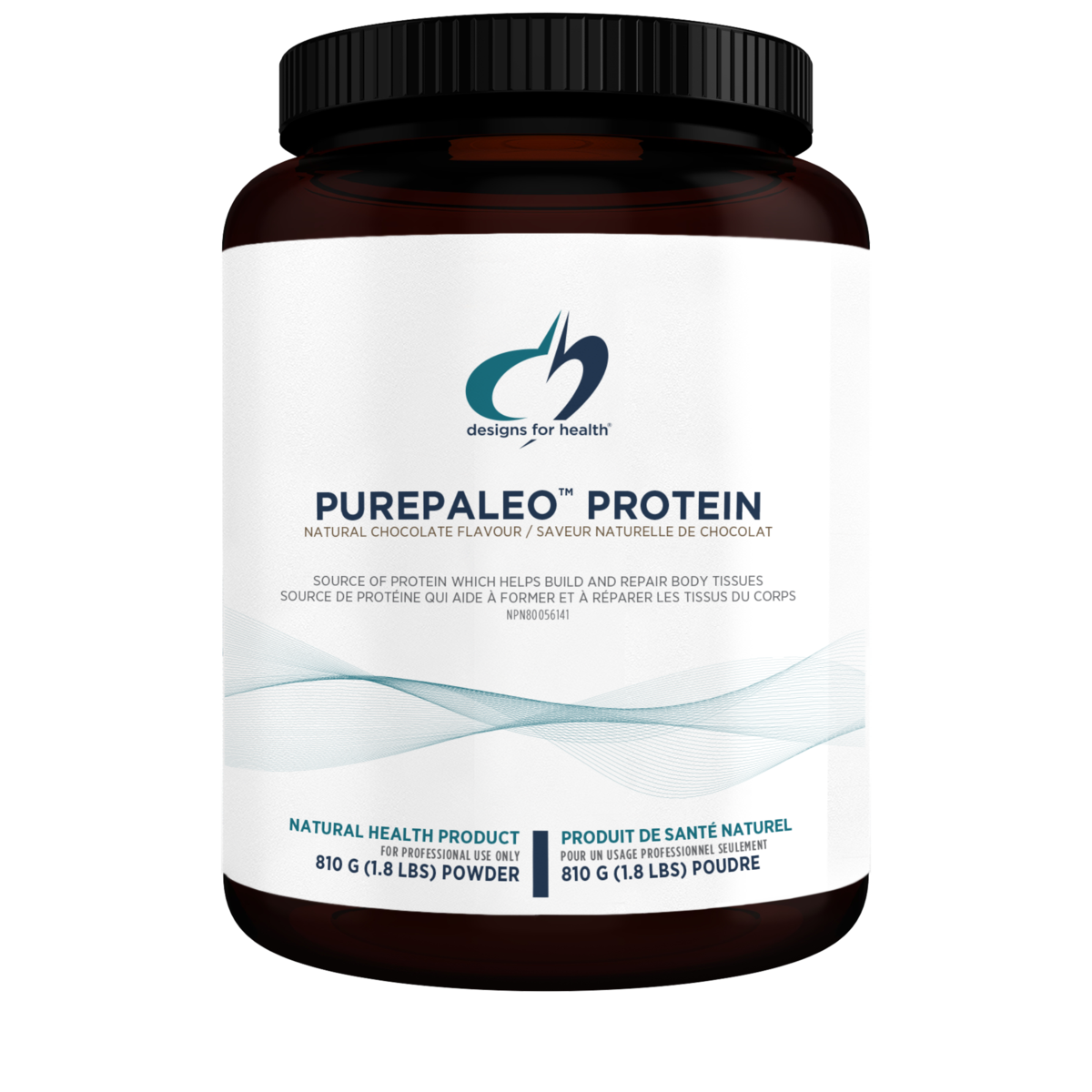 Designs for Health PurePaleo Protein - Chocolate - 810 grams (1.8 lbs)