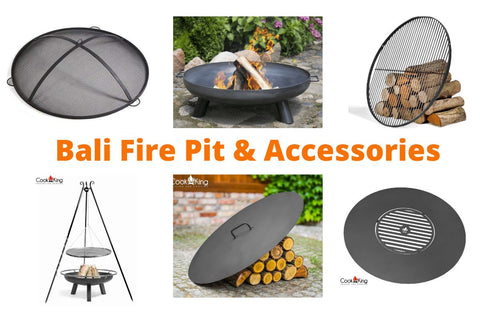 Cook King Bali Fire Pit Accessories