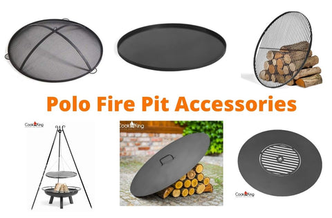 Cook King Polo Fire Pit Accessories