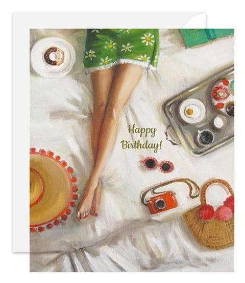 Janet Hill Studio - Happy Birthday Card