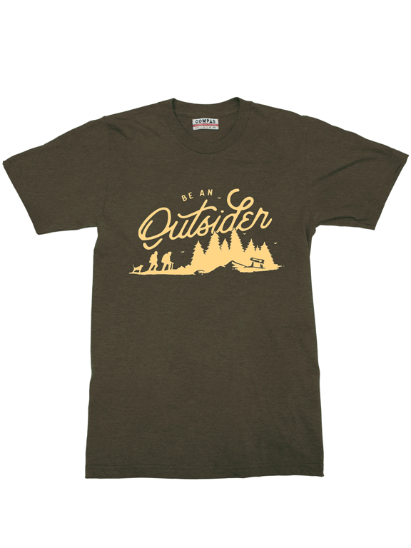 Compas Life- Outsiders T-Shirt