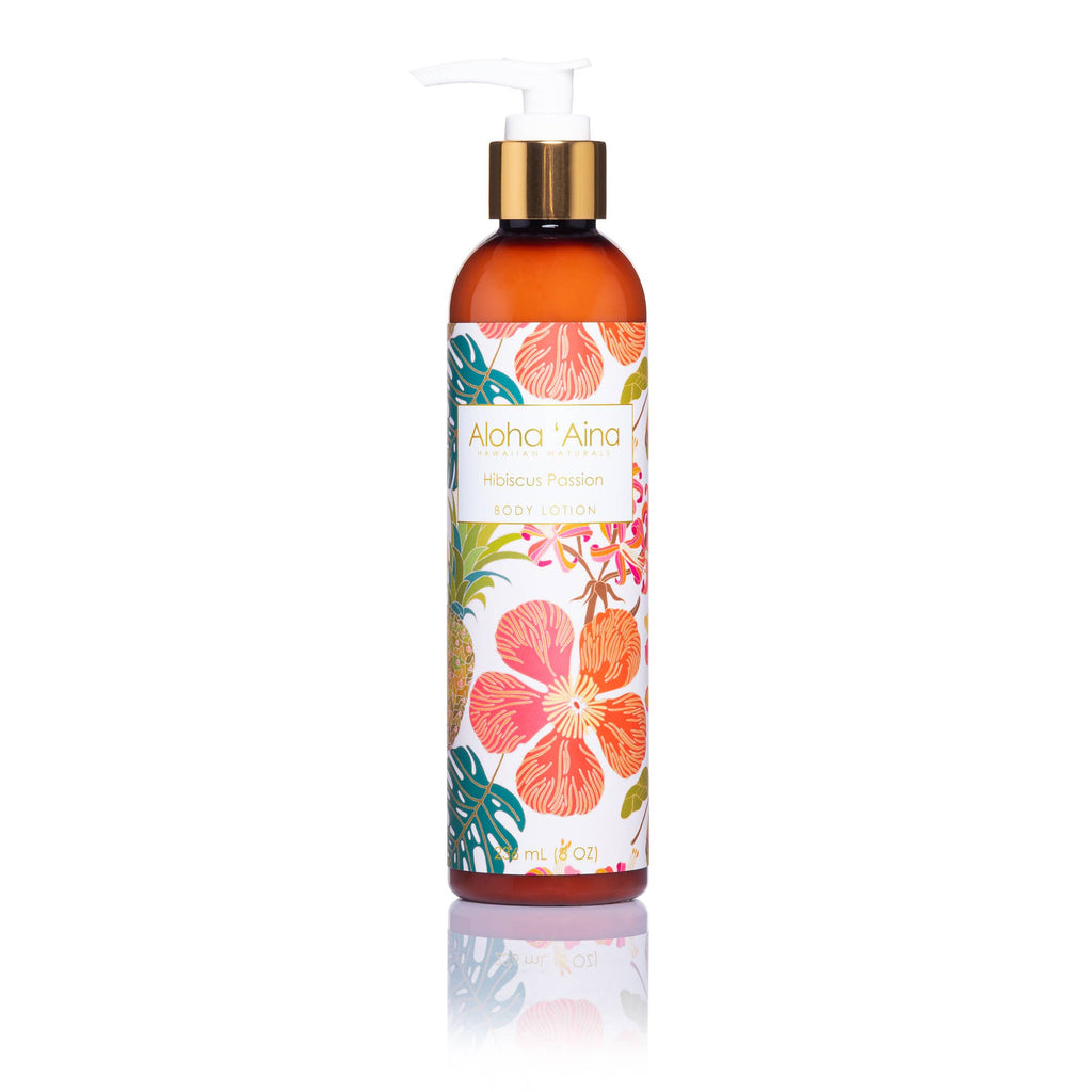 Maui Soap Co. - Aloha 'Aina - Hibiscus Passion Body Lotion