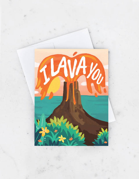 Idlewild - I Lava You Card