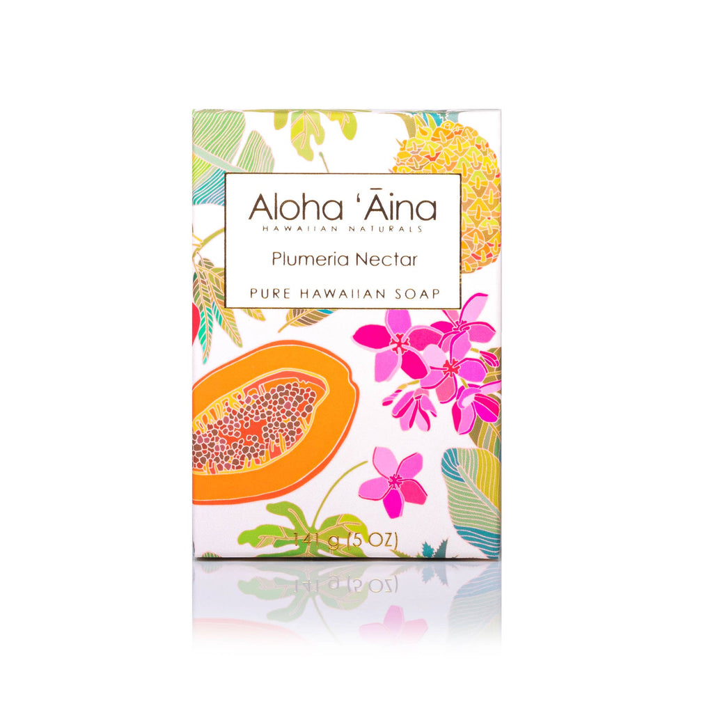 Maui Soap Co. - Aloha 'Aina – Plumeria Nectar Pure Soap
