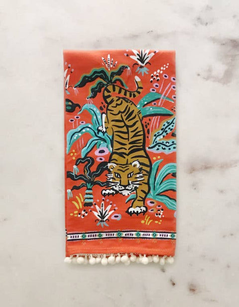 Idlewild - Crouching Tiger Tea Towel