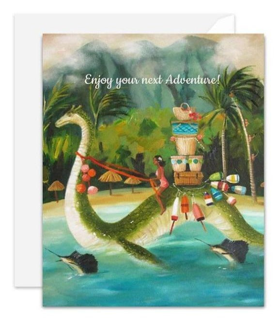 Janet Hill Studio - Enjoy Your Next Adventure Card