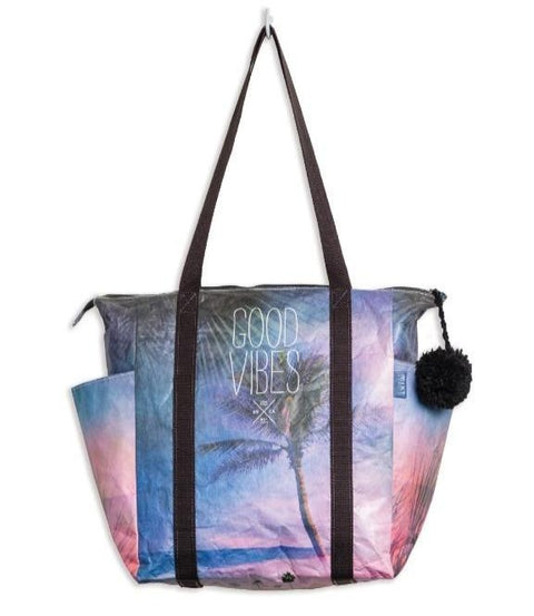 MIXT Studio - Good Vibes Zipper Tote Bag