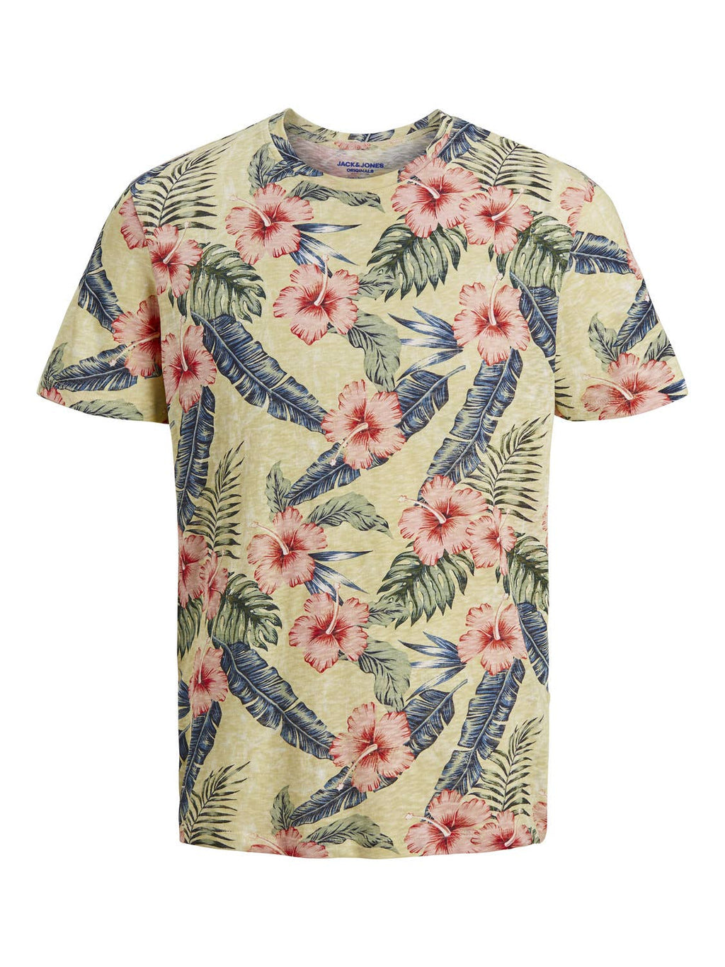 Jack & Jones - Jack & Jones  Men's Organic All Over Printed Crew Neck Tee