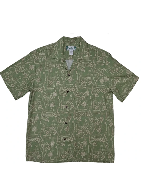 Two Palms- Hook Sage Two Palms Shirt