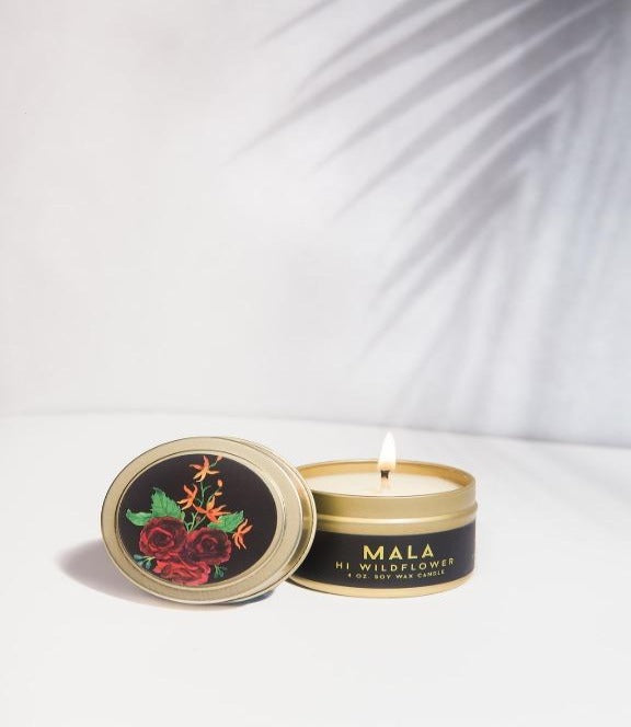 Hi Wildflower - Mala 4oz Candle