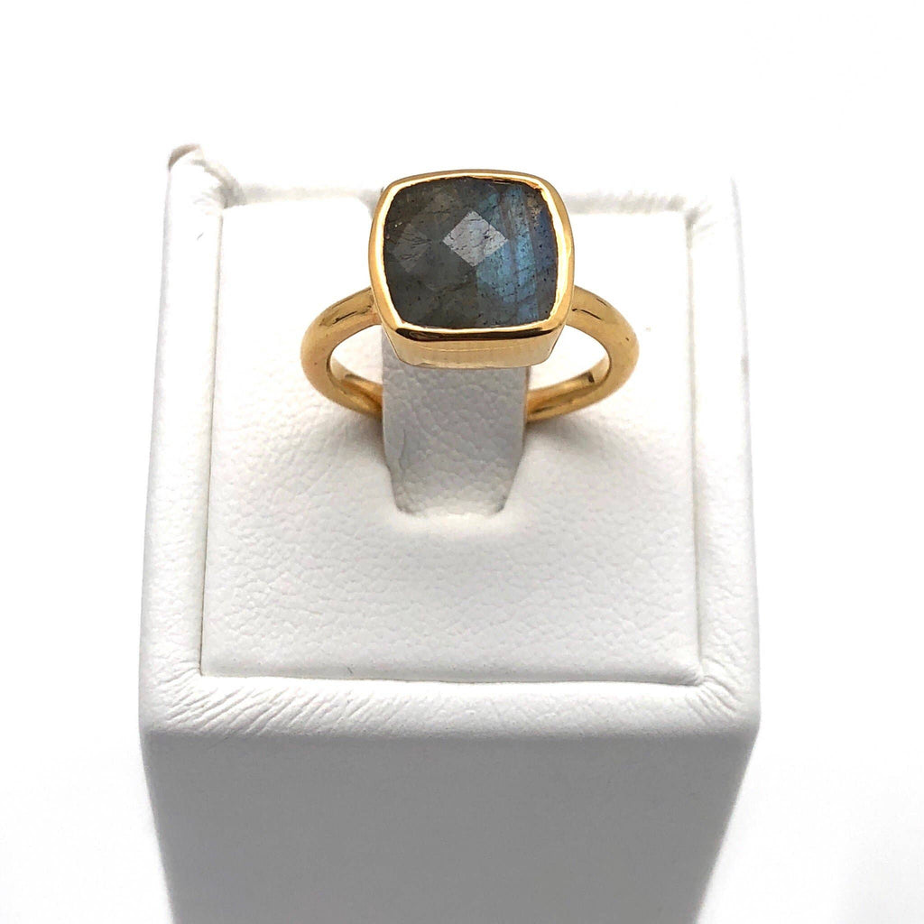 Nikki Smith Designs - Labradorite Gem Ring