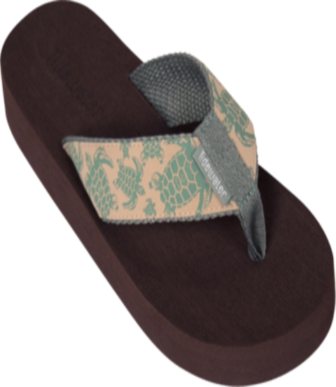 Tidewater Sandals - Natural Turtle
