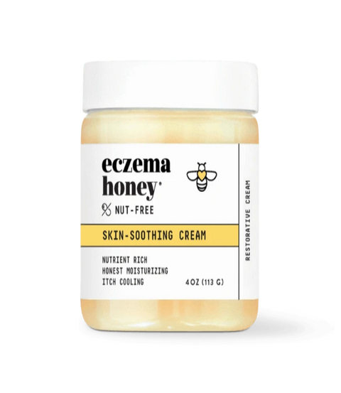 Eczema Honey- Nut Free Natural Healing Cream
