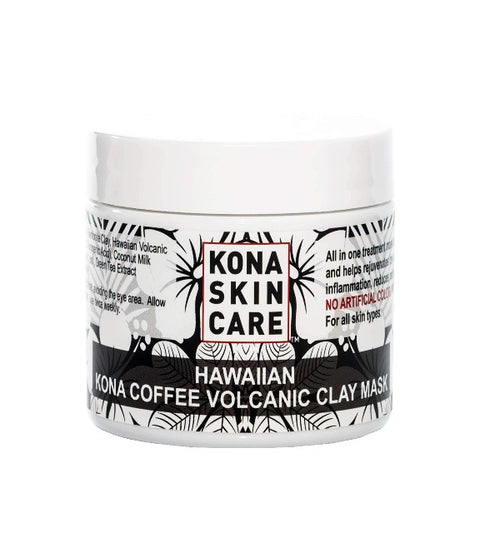 Kona Skin Care -  Kona Coffee Volcanic Clay Mask