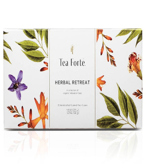 Tea Forte- Herbal Retreat Collection Petite Box