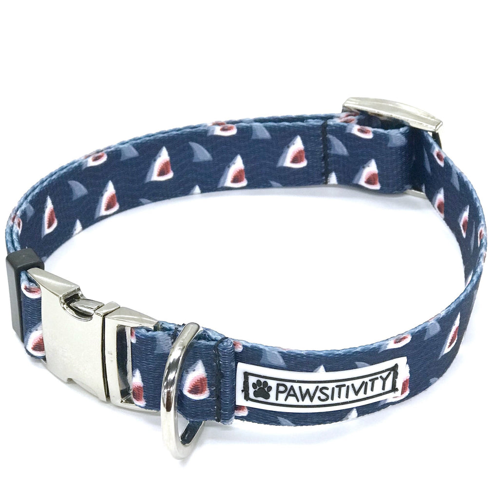 Pawsitivity - Small - Shark Bite Collar