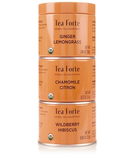 Tea Forte- Herbal Loose Leaf Tea Trio