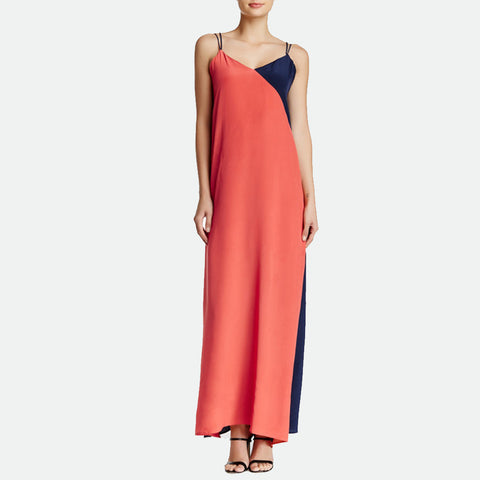 Franny Silk Maxi dress
