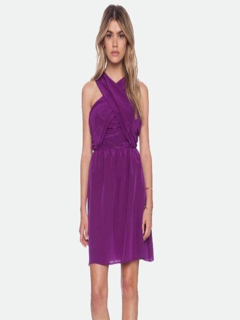 Amour Vert- Ivonne Silk dress