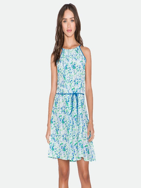 Amour Vert- Orla silk dress