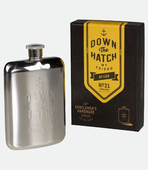Gentleman's Hardware Hip Flask