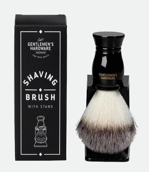 Gentleman's Hardware- Shaving Brush & Stand