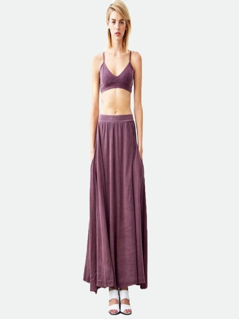Groceries- Madison maxi vege dye skirt