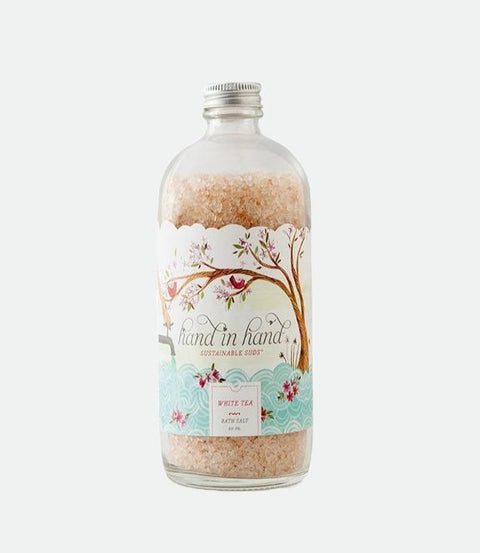 Hand in Hand- White Tea Bath Salts