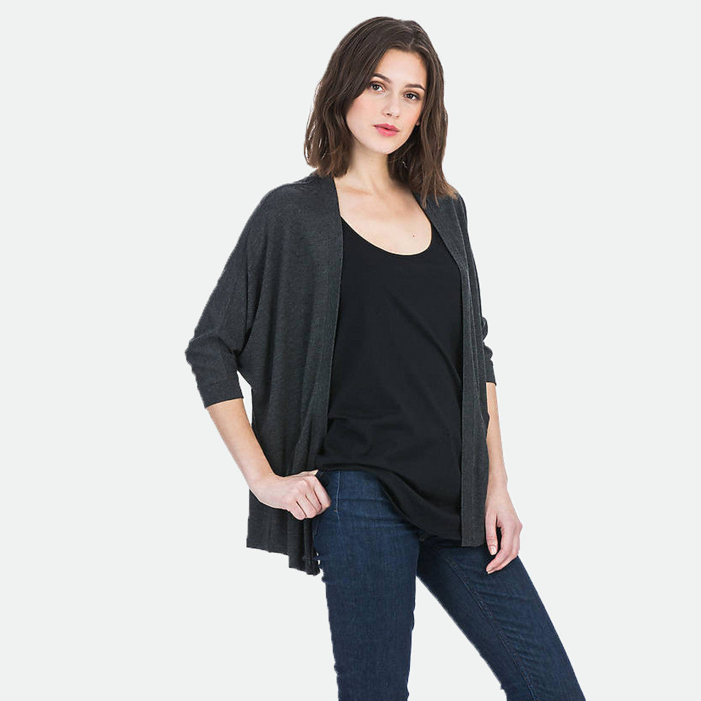Liquid Terry Dolman cardigan