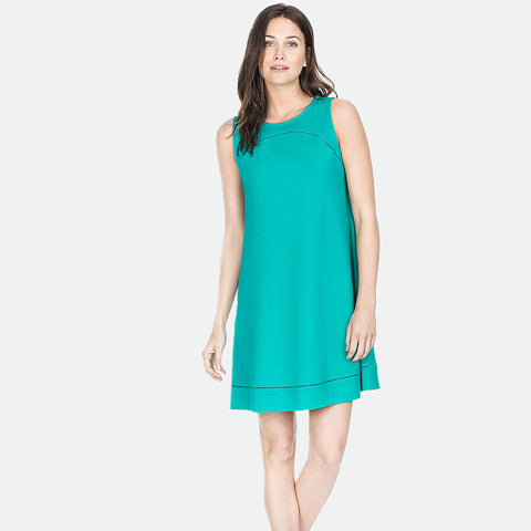 Mallard seamed shift dress