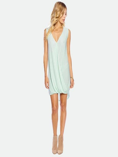 Avery drape dress