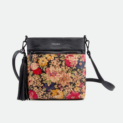 Pixie Mood Claudia floral cork crossbody