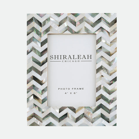 Shiraleah- Griggio Mother of Pearl frame