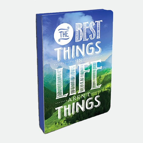 The Best Things in Life medium journal