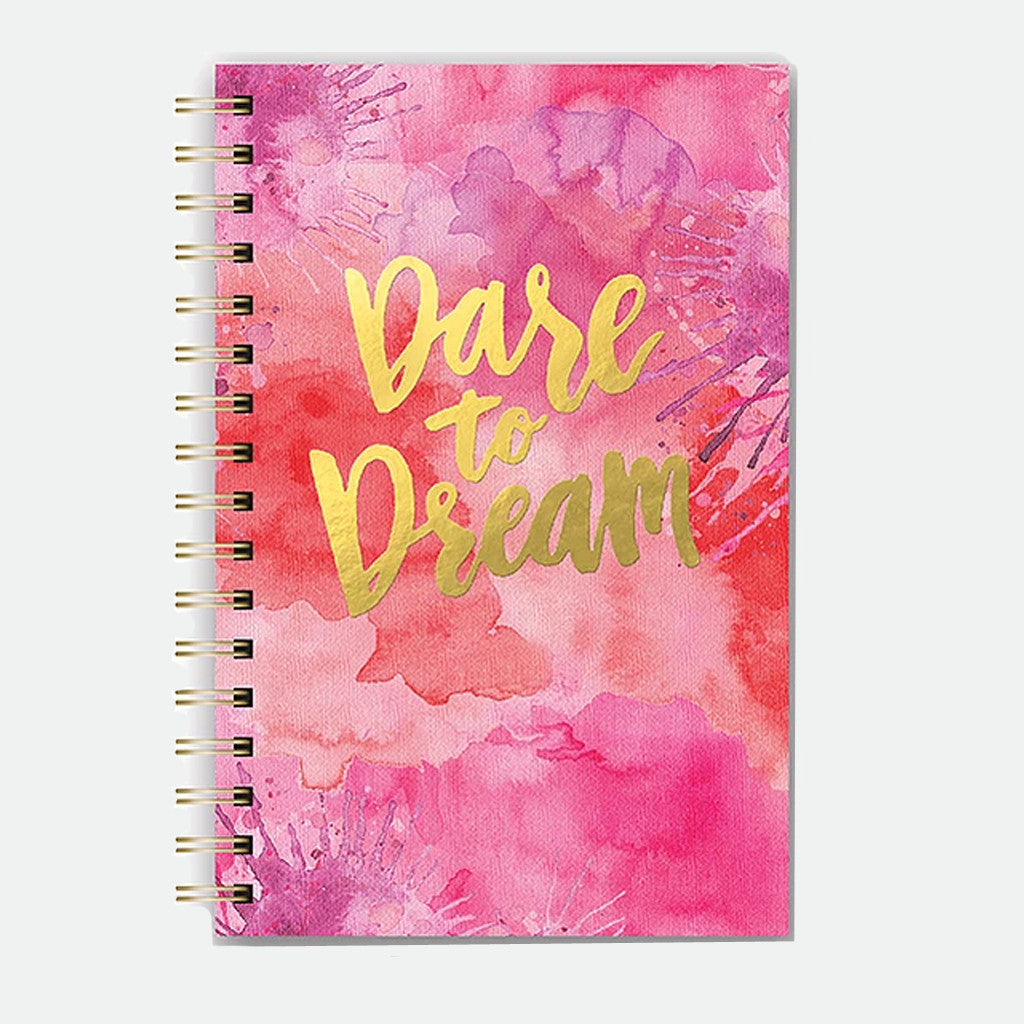 Dare to Dream spiral notebook