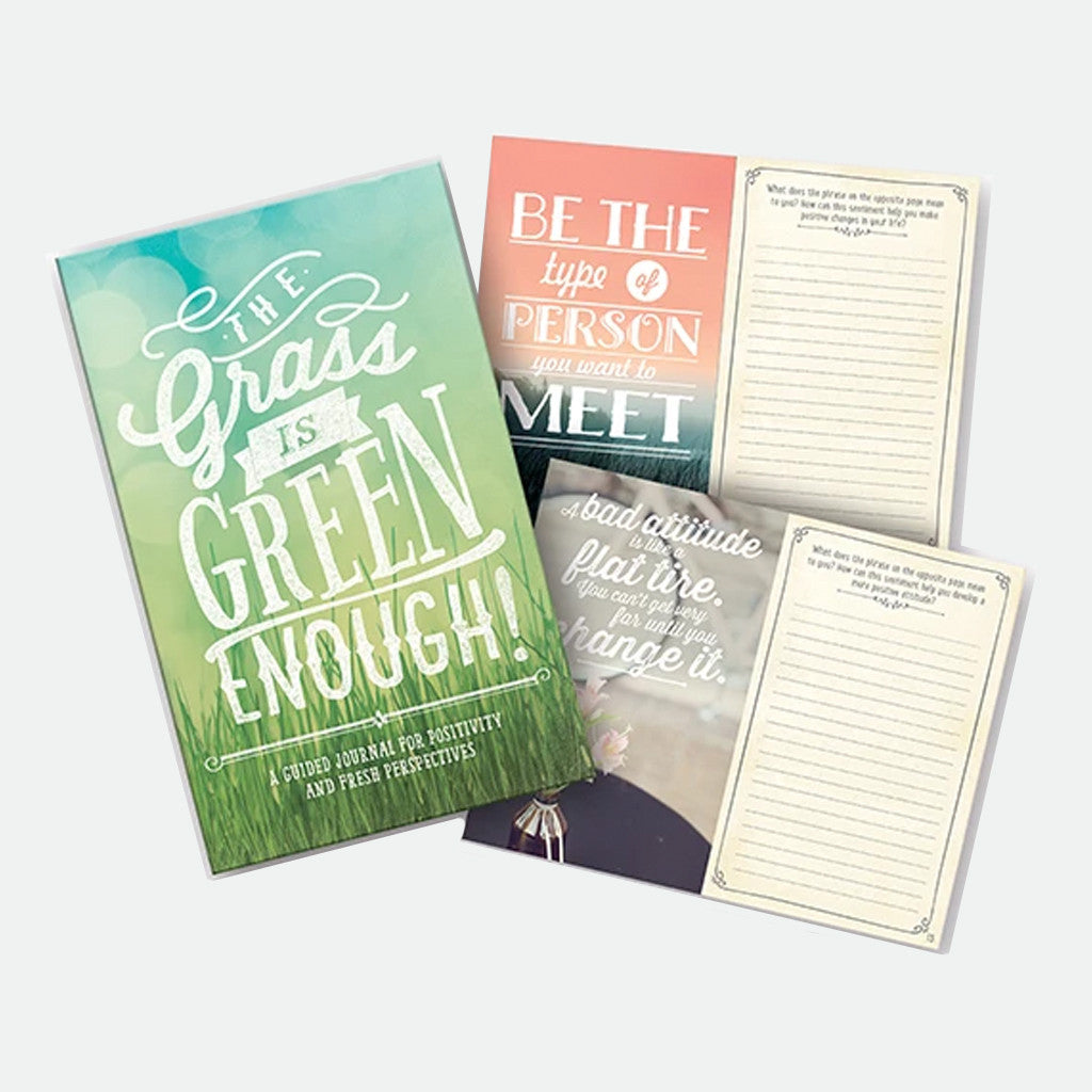 The Grass is Green enough, Gratitude journal