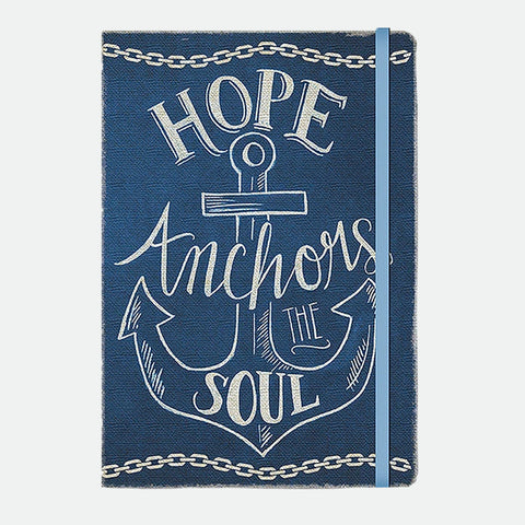 Hope Anchors the Soul compact journal