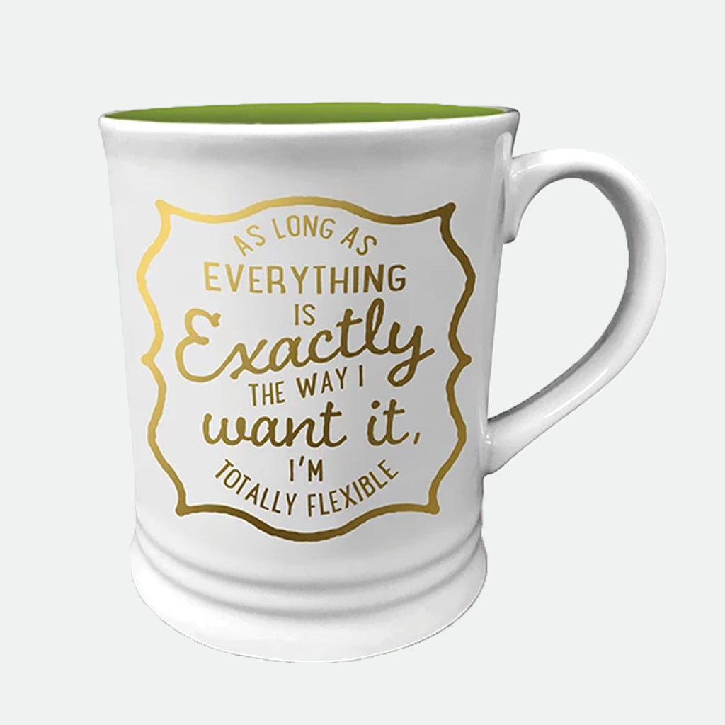 I'm Totally Flexible ceramic mug