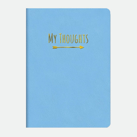 Bibbidy-Bobbidy Blue leatheresque journal