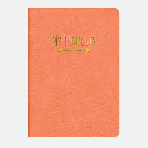 Crazy for Coral Leatheresque journal