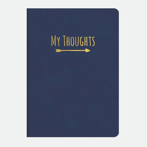 Deeply Blue Leatheresque journal