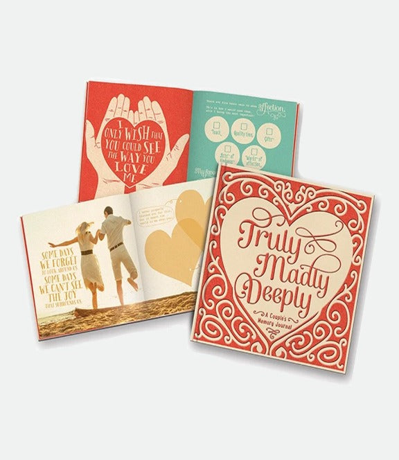 Studio Oh- Truly, Madly, Deeply Couple's journal