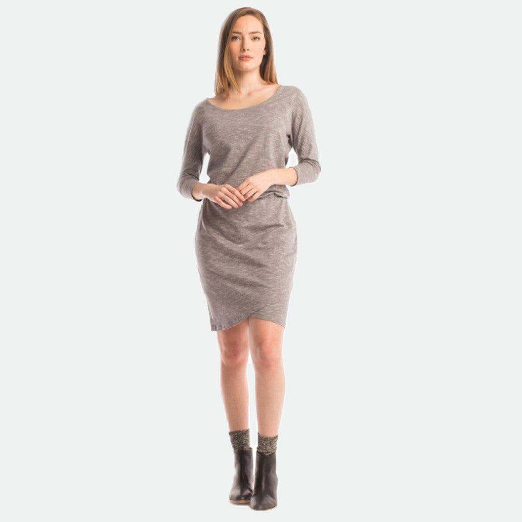 Synergy- Melange Cappuccino Dress