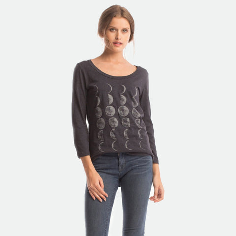 Moon Phases Ballet Top