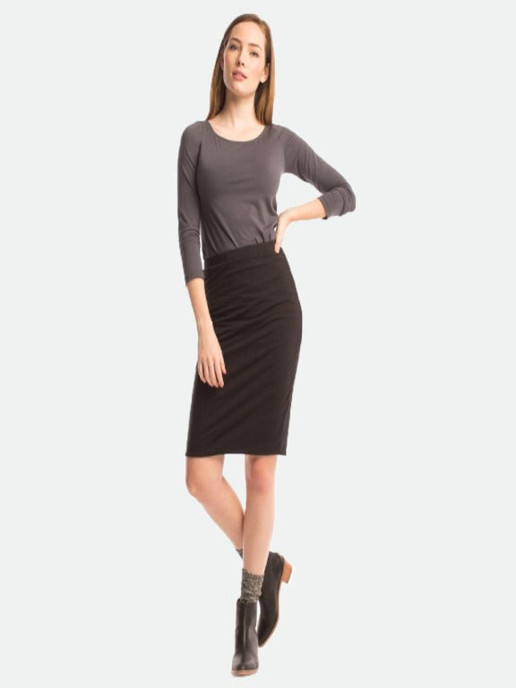Synergy- Black Tube Skirt