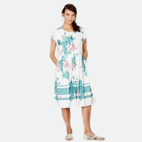 Nevada cactus tencel dress