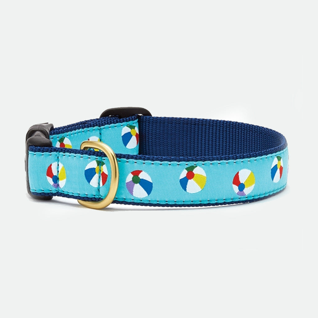 Upcountry Beachball dog collar