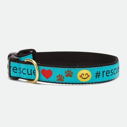 Upcountry #Rescue dog collar