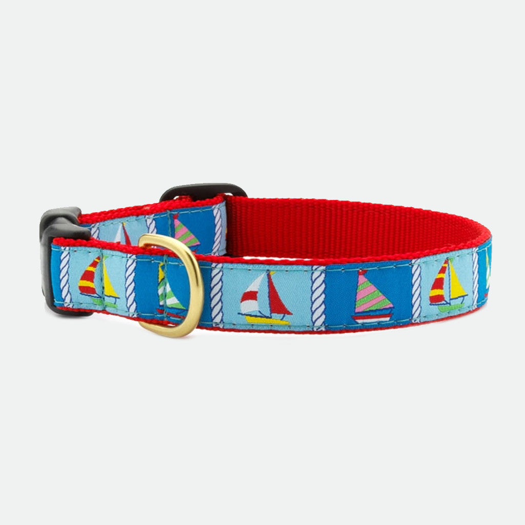 Upcountry Sailing Fleet dog collar